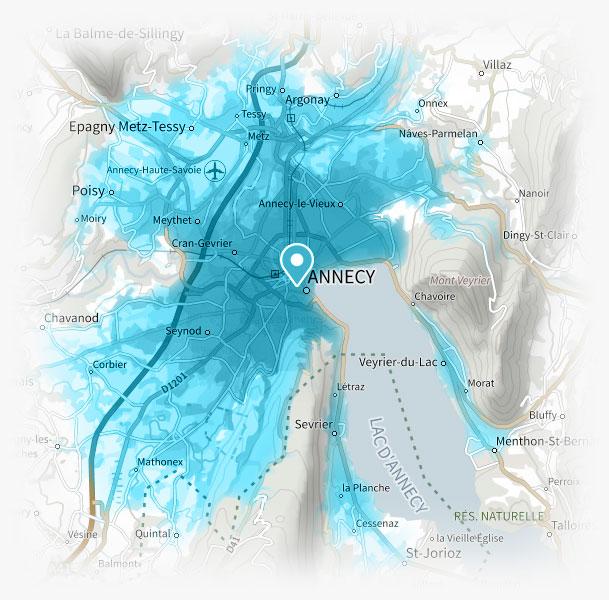 Livraison Annecy